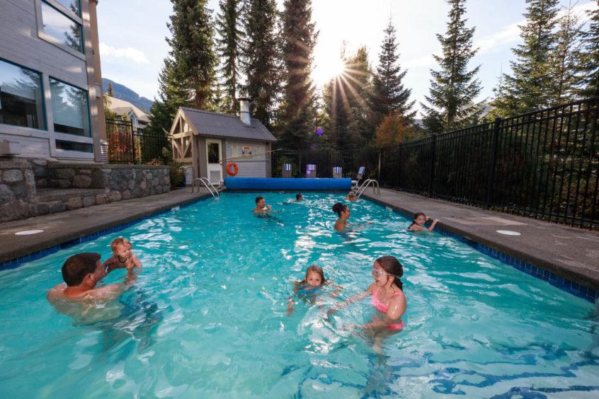 Greystone ski-in / ski-out lodge in Whistler, British Columbia, Canada