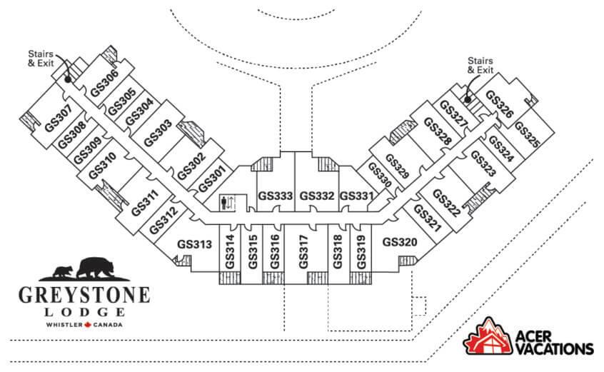Floor 3 - Greystone Lodge