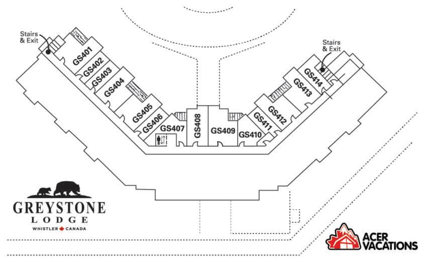 Floor 4 - Greystone Lodge