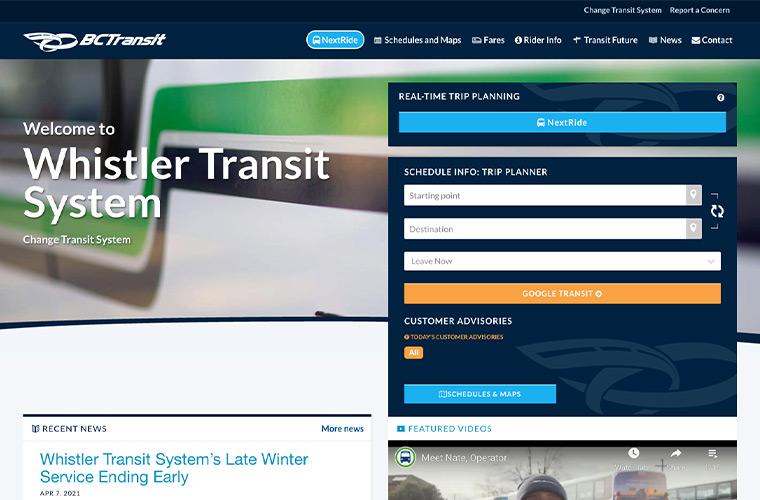 Whistler-Transit